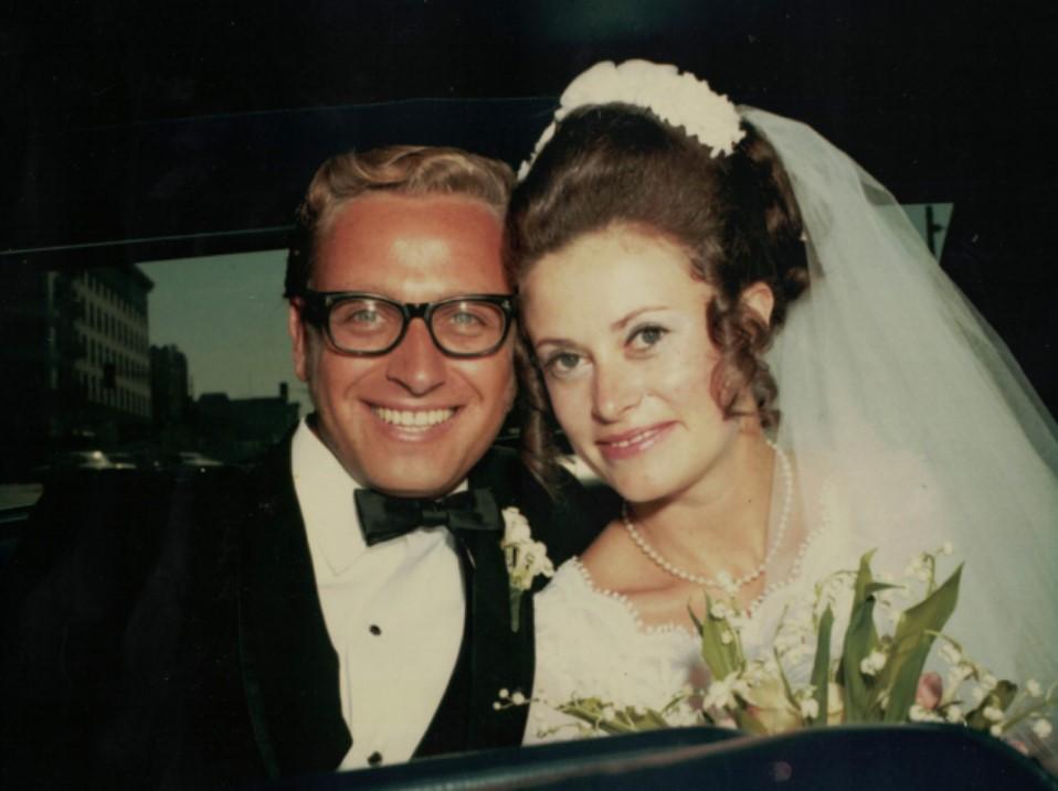 AlexBarbaraLutkus_on their wedding day in Oakland CA_1971