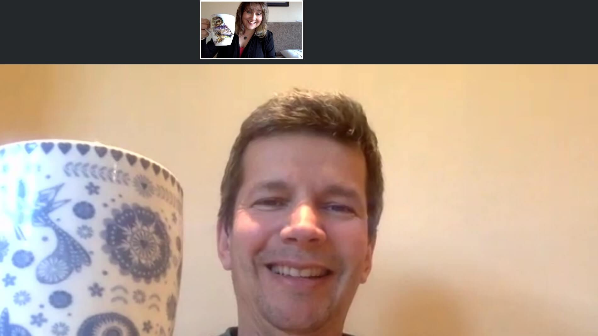 Francois Client Remote Video Call Client Tea_with Writer Jenn Upton_Blog