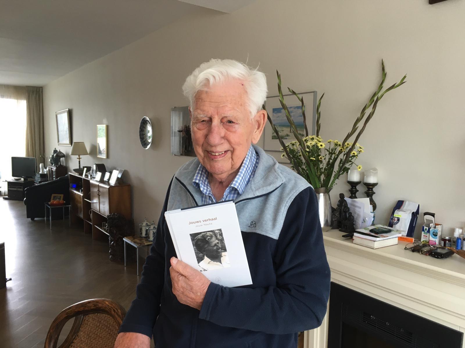 Jouw Nauta - 95 year old StoryTerrace client