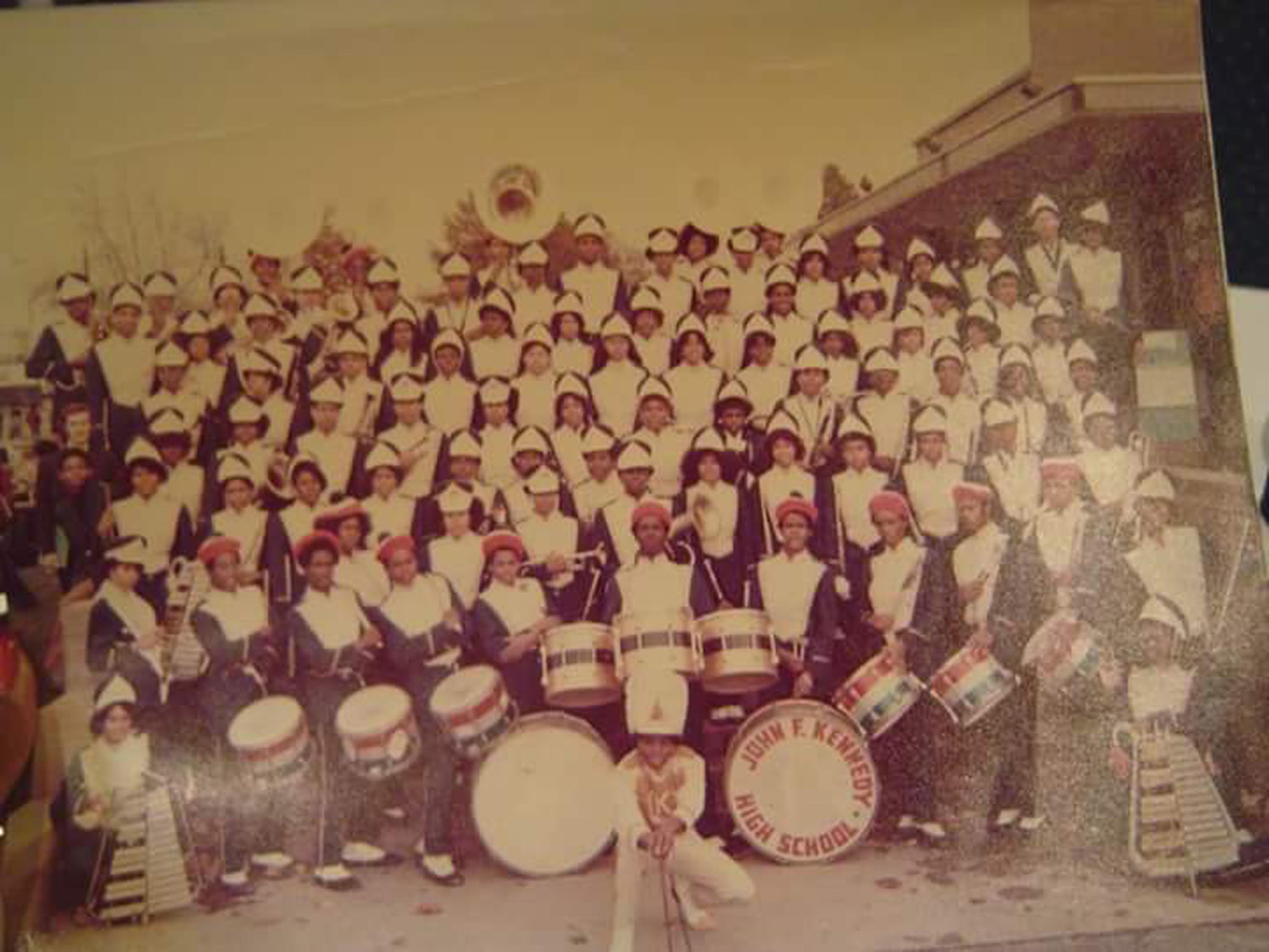 LaVerneClouden_BookoftheMonth_FirstHighSchoolBand