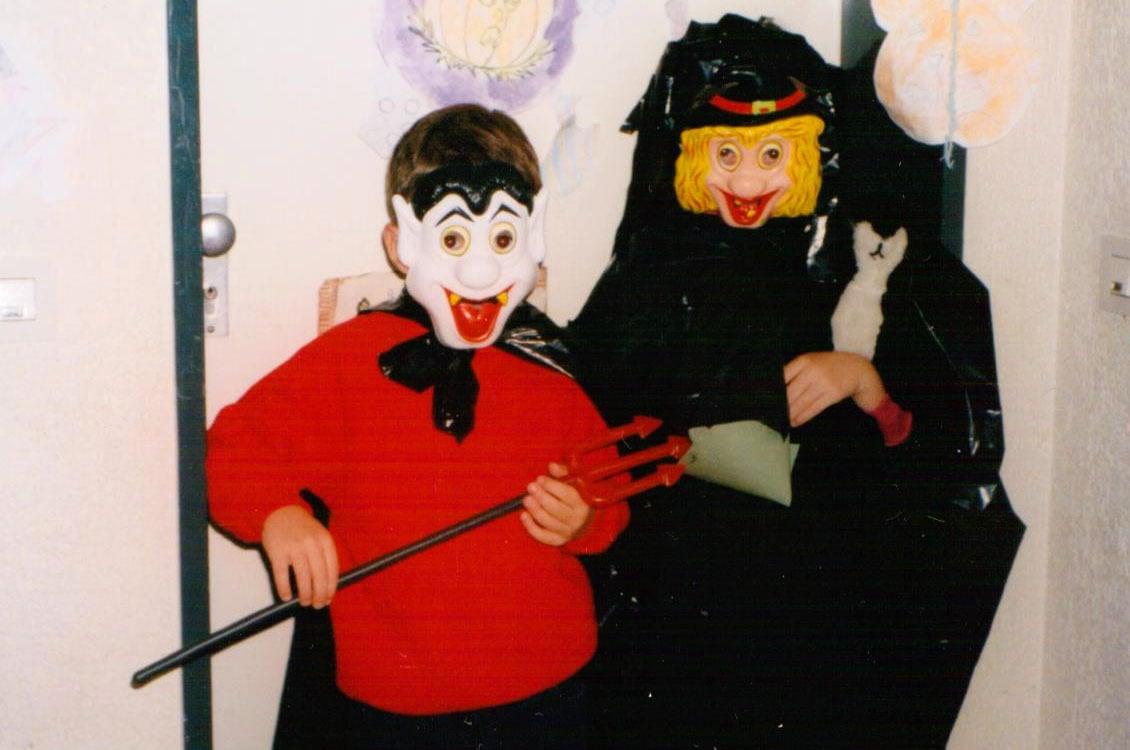 Rebecca Ferrier - ghostwriter blog - Halloween