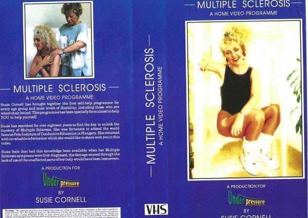 Susie Cornell MBE - put together a home video called the MS Home Exercise Programme which was later bought by most physio departments in hospitals throughout the UK